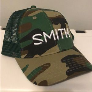 Smith Camo trucker cap